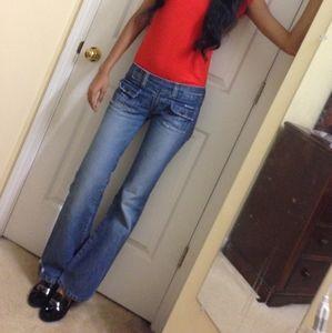 """HOLLISTER bootcut jeans (waist25-27"""")"""